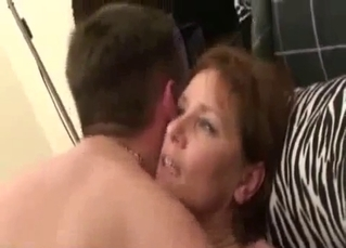 Real cuckold milf amateur homemade creampie
