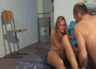 Sister and daddy have amazing incest action