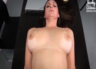 Fatty stepdaughter wants me to drill her twat