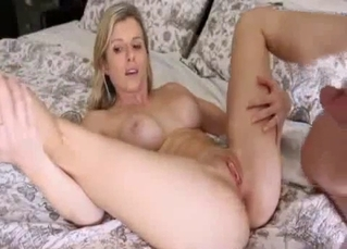 Amazingly hot stepdaughter and her brother
