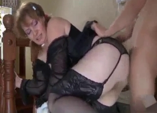 Nasty anal action with a big-ass stepsister