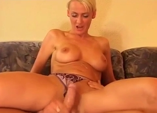 Mom jumps on my boner and gets some fresh jizz