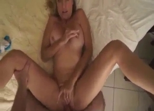 Cheating MILF have fun with her stepson